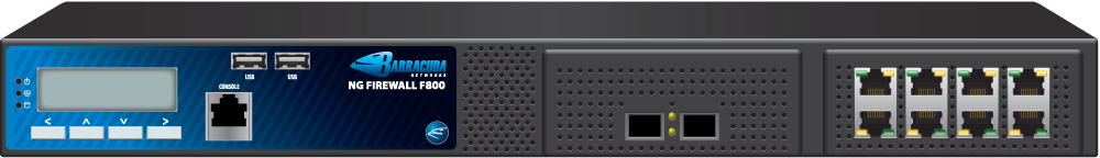 Barracuda CloudGen Firewall F100