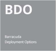 Barracuda Deployment Options