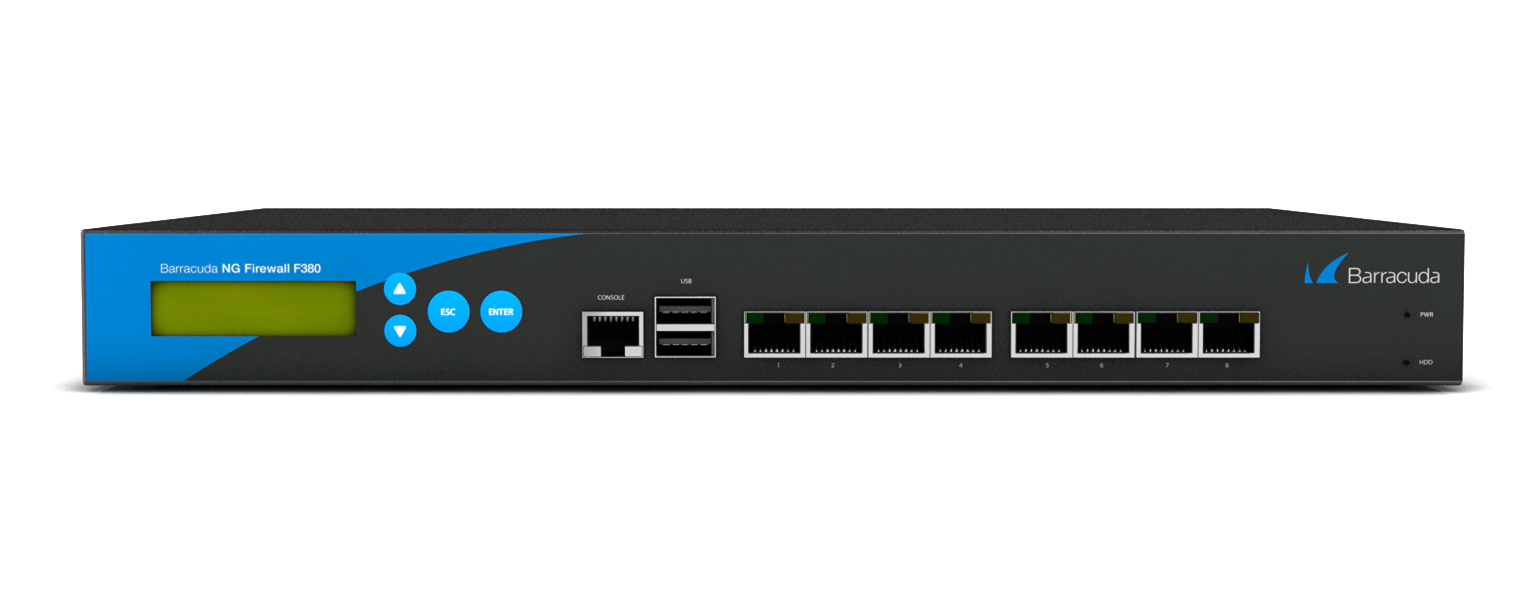 Barracuda CloudGen Firewall F380